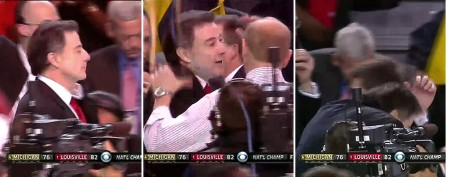 Championship coach gets spooked after game