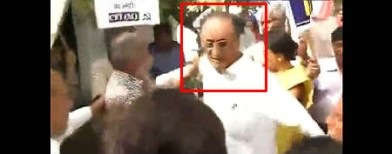 On cam: Amit Mitra, minister's shirt torn off