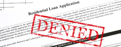 Common reasons for refusal of bank loans