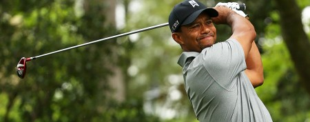 Tiger off to a solid start at the Masters
