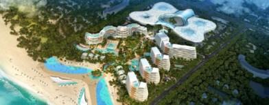Stunning project in 'Chinese Riviera'