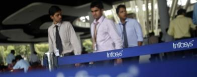 Infosys profit rises 3%, beats estimates