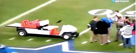 Lawsuit filed in scary golf cart accident