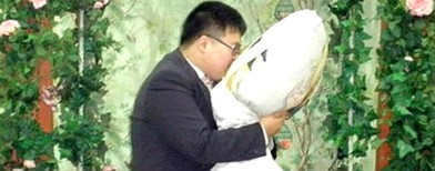 The man who married a pillow