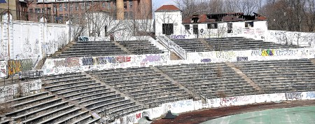 Decrepit stadium named national landmark