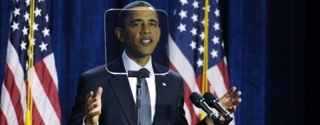 Man punished in Obama teleprompter caper