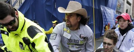 Marathon hero had lost sons to tragedy