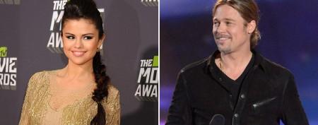 Bieber's ex has awkward run-in with Brad Pitt