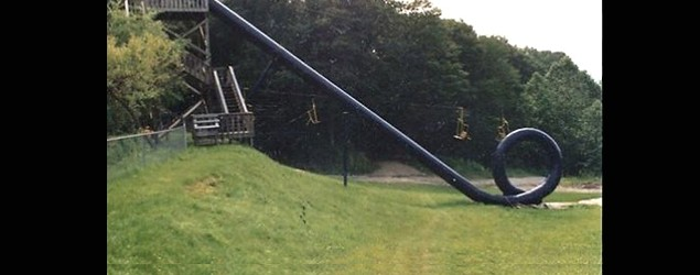 Rare video surfaces of people riding the Cannonball Loop at Action Park. (Trending Now)