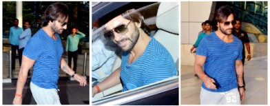 Spotted: Saif's slim new avatar!