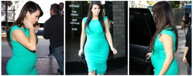 Kim K flaunts more than her bump