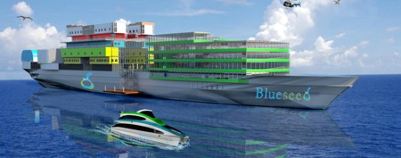 Entrepreneurs could get their own floating city