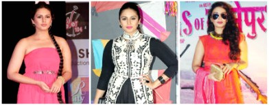 Huma Quereshi's downhill fashion
