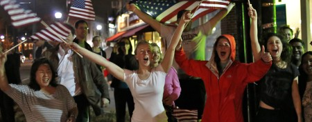 In Boston, a show of relief and gratitude