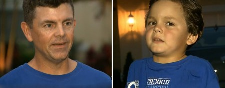 Dad pulls 6-year-old from alligator's jaw