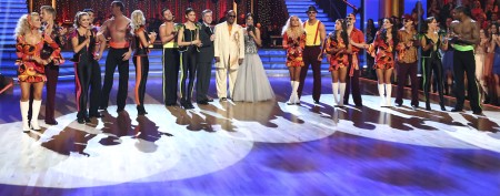 Celeb voted off 'Dancing With the Stars'