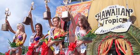 End of the Hawaiian Tropic bikini contests
