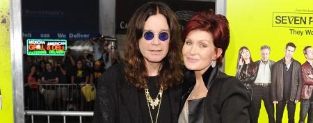 Sharon Osbourne addresses divorce rumors
