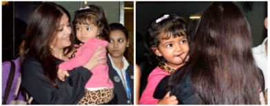Aaradhya's fashionable day out