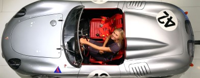 Porsche's new brand ambassador is pretty
