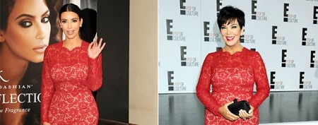 Kardashians' revolving closet of hand-me-downs