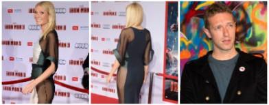 Gwyneth's bottom baring antics!