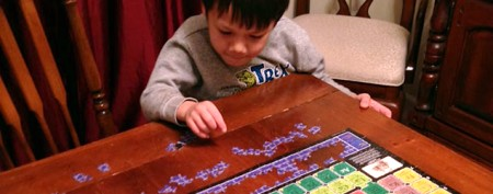 Mensa child's unusual key to learning