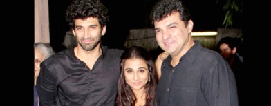 Vidya all praises for bro-in-law Aditya
