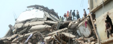 Bhopal hospital roof crashes, 15 trapped