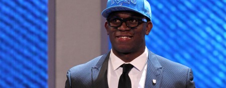 NFL draftee's strange fashion decision