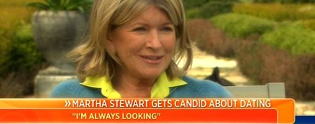 How Martha Stewart once tried to find a man