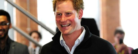 Prince Harry tries his hand at a new gig