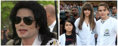 MJ's kids not biologically his own?