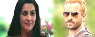 Ex-couple Saif-Amrita to clash