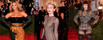 Eccentric fashion at the Met Gala