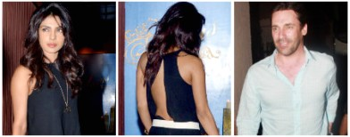 Priyanka Chopra's sexy backless parade