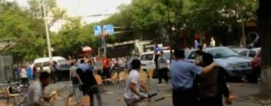 Caught on cam: Bloody brawl in Beijing