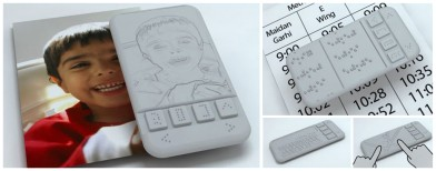 World's first smartphone for the blind