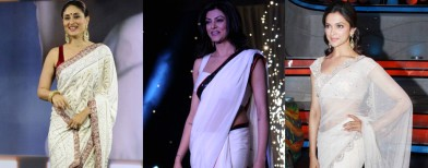 Who looks the sexiest in a saree?