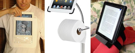 Check out these absurd iPad accessories