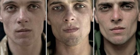 Poignant glimpse at the faces of war