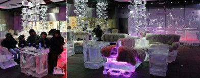 Chilling out in Dubai's ice lounge