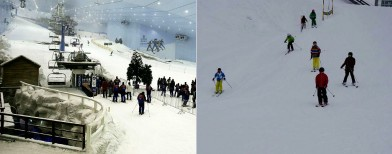 Guess which ski resort is in Dubai!