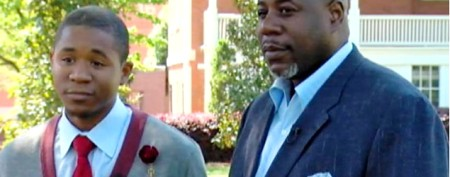 Dad, son graduate together from Morehouse