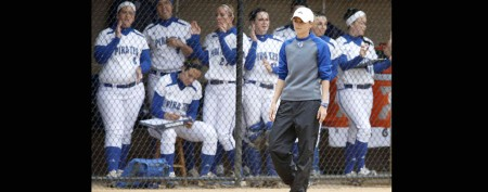 College softball coach accused of abuse