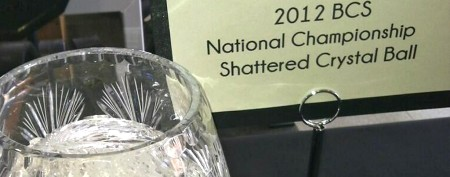 Shattered BCS trophy fetches crazy money