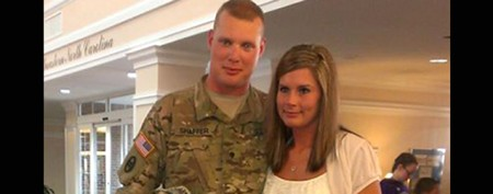 Wife's stunning surprise for soldier husband