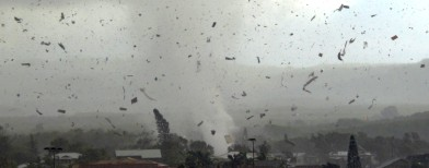 Two killed as tornadoes hit US again