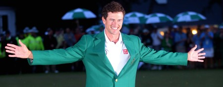 Adam Scott won the Masters using a technique that will be banned in the future. (Getty Images)
