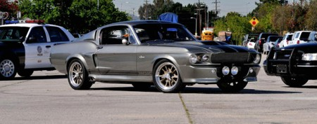 Famous Mustang fetches crazy auction price